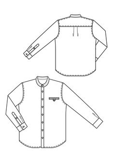 236x314 Technical Drawing Shirt