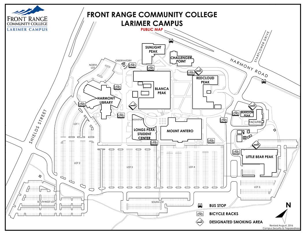1056x816 Larimer Campus Map