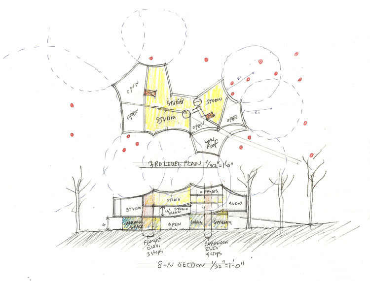 750x571 Steven Holl Designs A New Visual Arts Building For Franklin