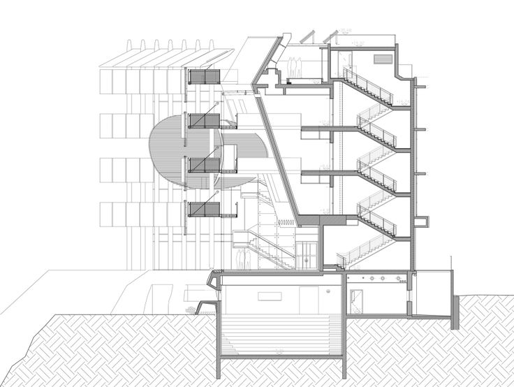 736x554 88 Best Plans And Sections Images On Architecture