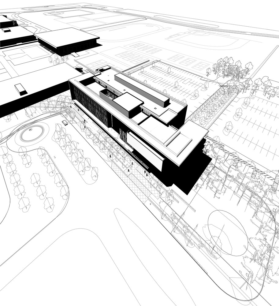 College Campus Drawing at GetDrawings com | Free for personal use