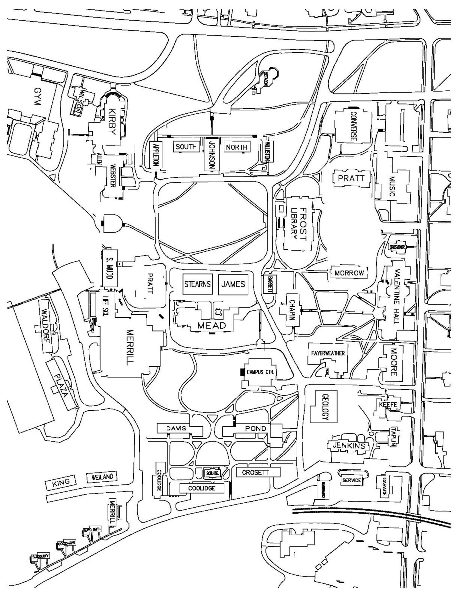 Pcc Rock Creek Campus Map
