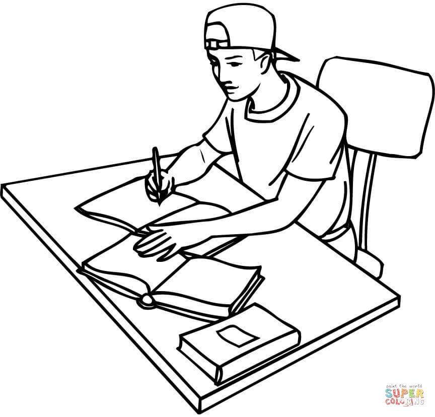 864x828 College Coloring Pages Free Coloring Pages