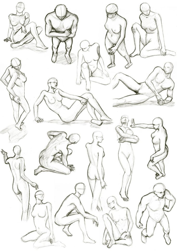 College Life Drawing