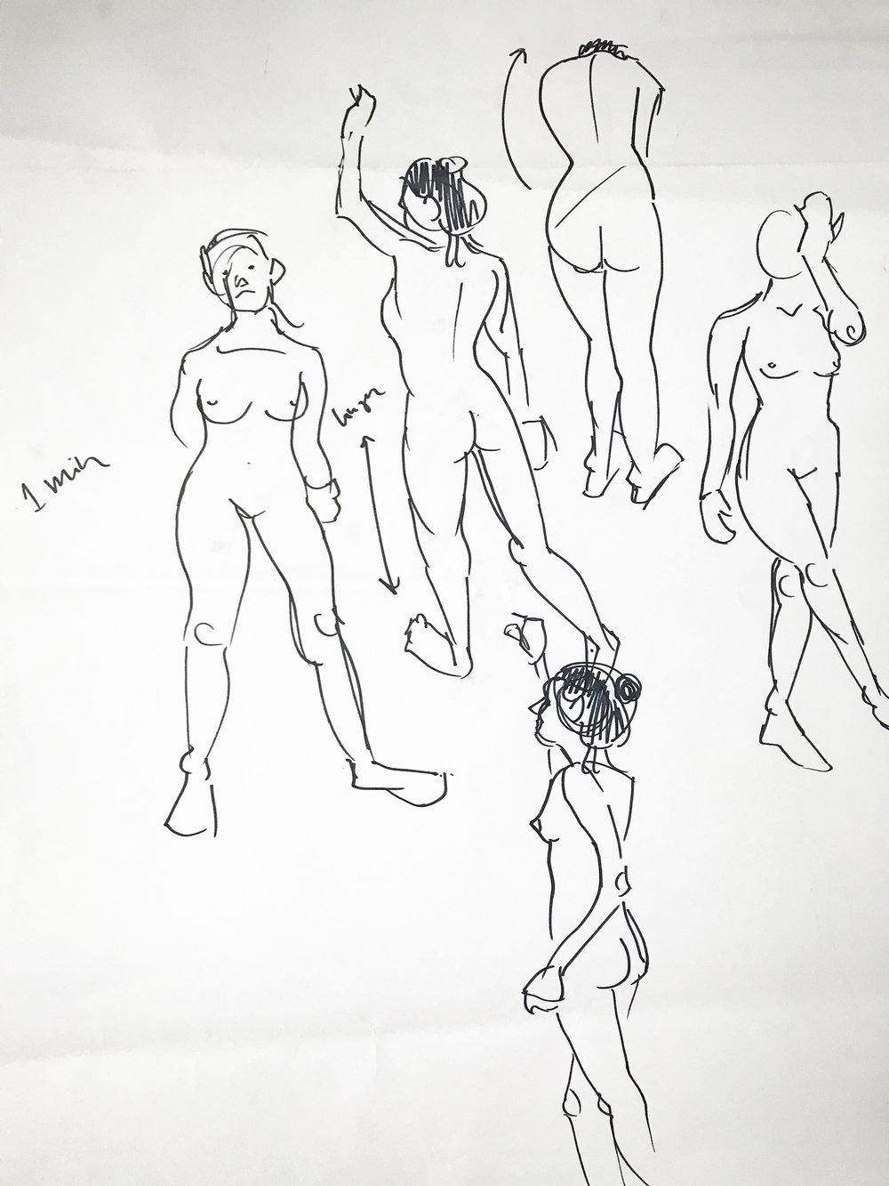1000x1333 Life Drawing Stephanie Sim