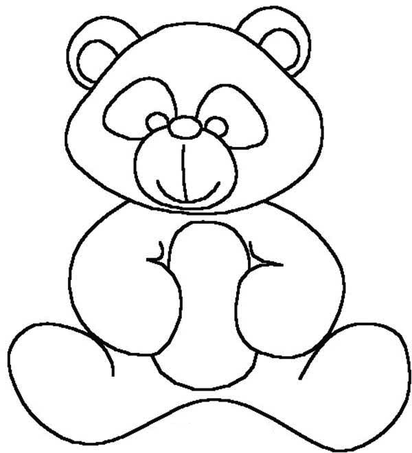 600x660 Kids Drawing Of Teddy Bear Coloring Page Color Luna