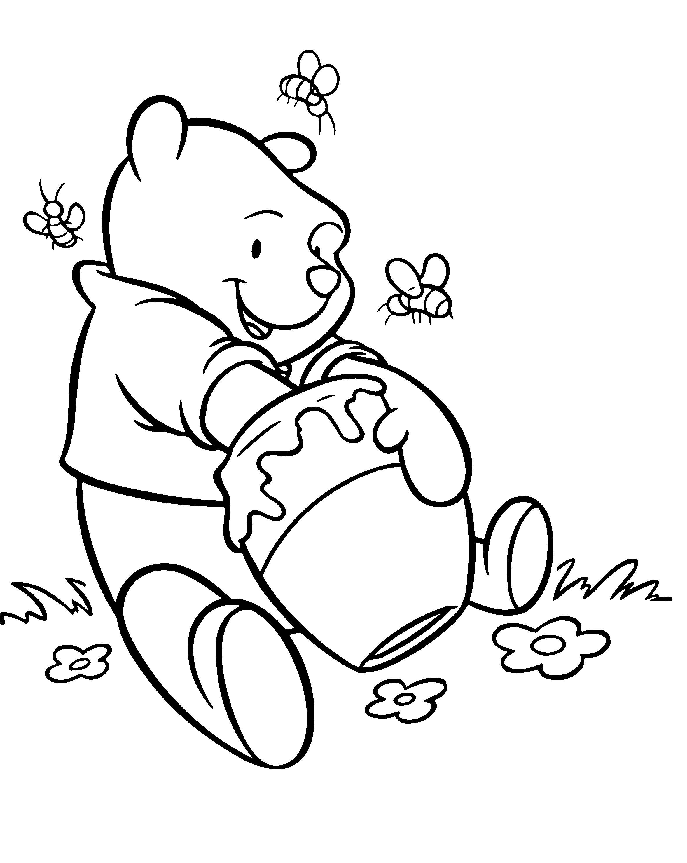 2355x2957 Winnie The Pooh Pencil Sketches Winnie The Pooh Color Pencil