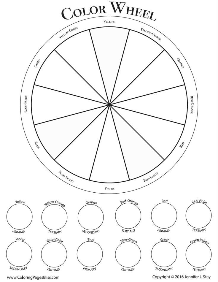 735x950 How To Use Analogous Colors Color Wheels, Stress Free