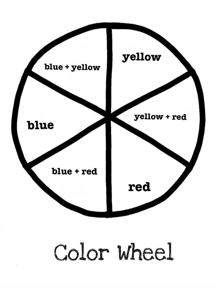 736x981 Best Colour Wheel Art Ideas On Colour Wheel Lesson