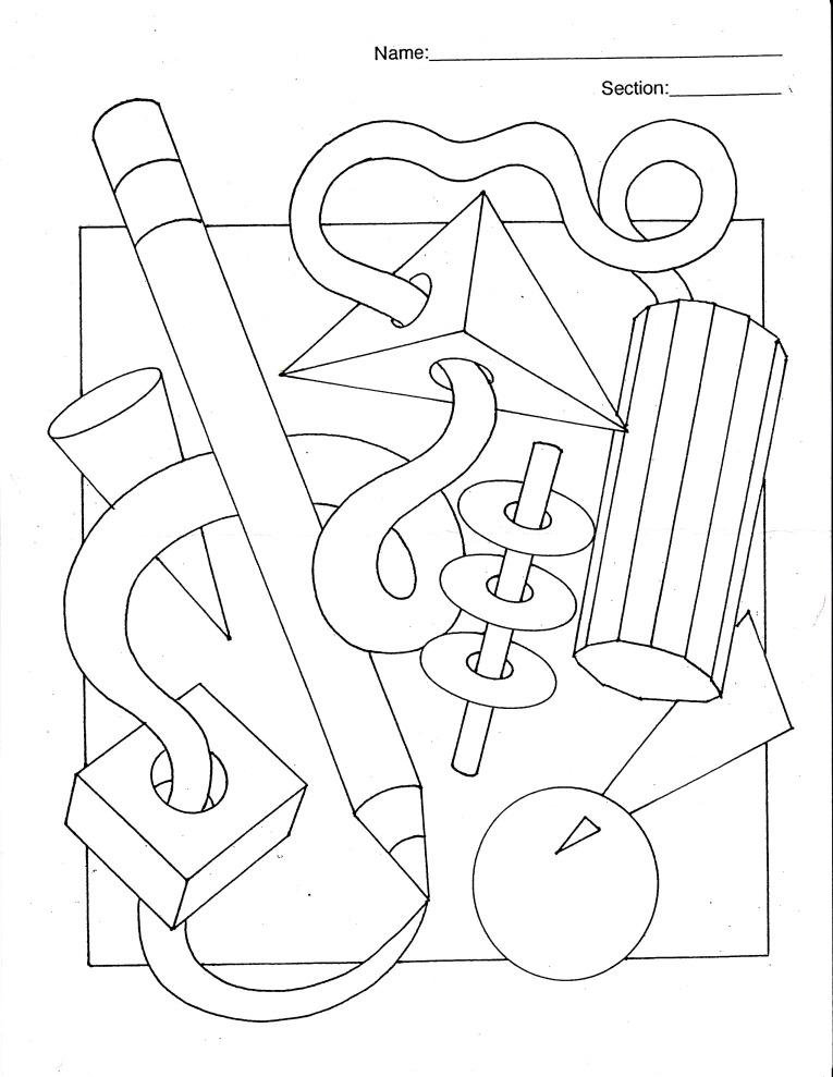 765x989 6th Grade Colored Pencil Unit Colored Pencils, Art Worksheets