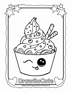 300x388 Draw So Cute Coloring Pages Pics Coloring Pages Draw So Cute