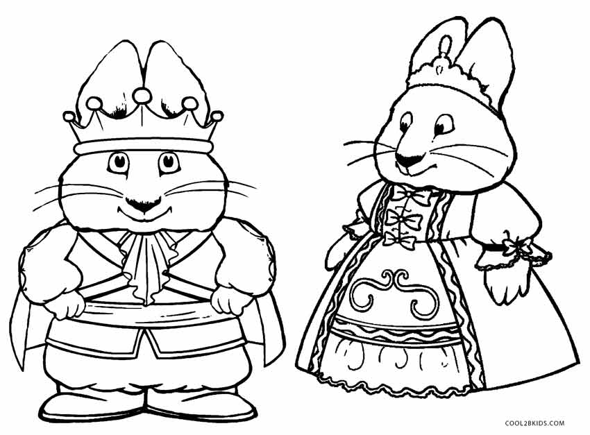 850x627 Free Printable Max And Ruby Coloring Pages For Kids Cool2bkids