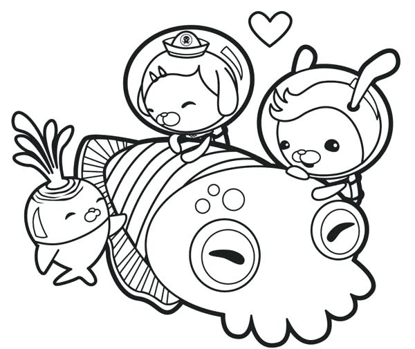 600x505 Squid Coloring Pages The Meet Giant Squid Coloring Page Giant