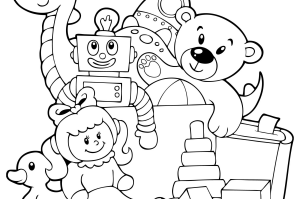 300x199 Colouring In Pages, Books Amp Sheets For Kids Printable Colouring