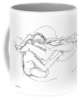 256x320 Line Drawing Coffee Mugs Fine Art America