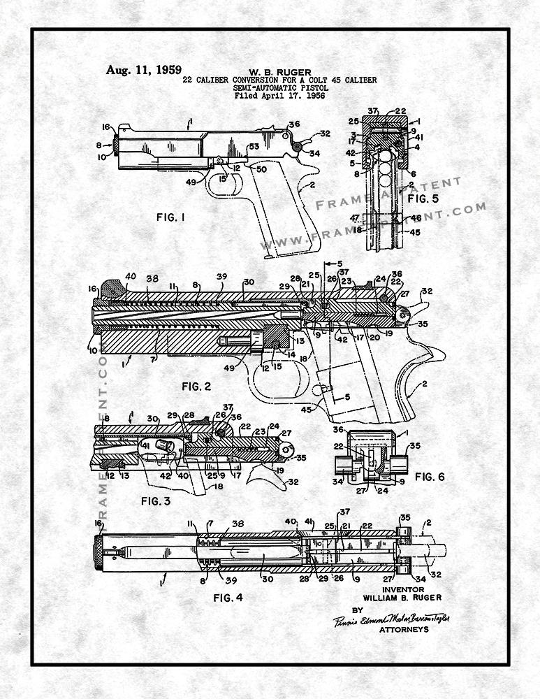 773x1000 22 Caliber Conversion For A Colt 45 Caliber Semi Automatic Pistol