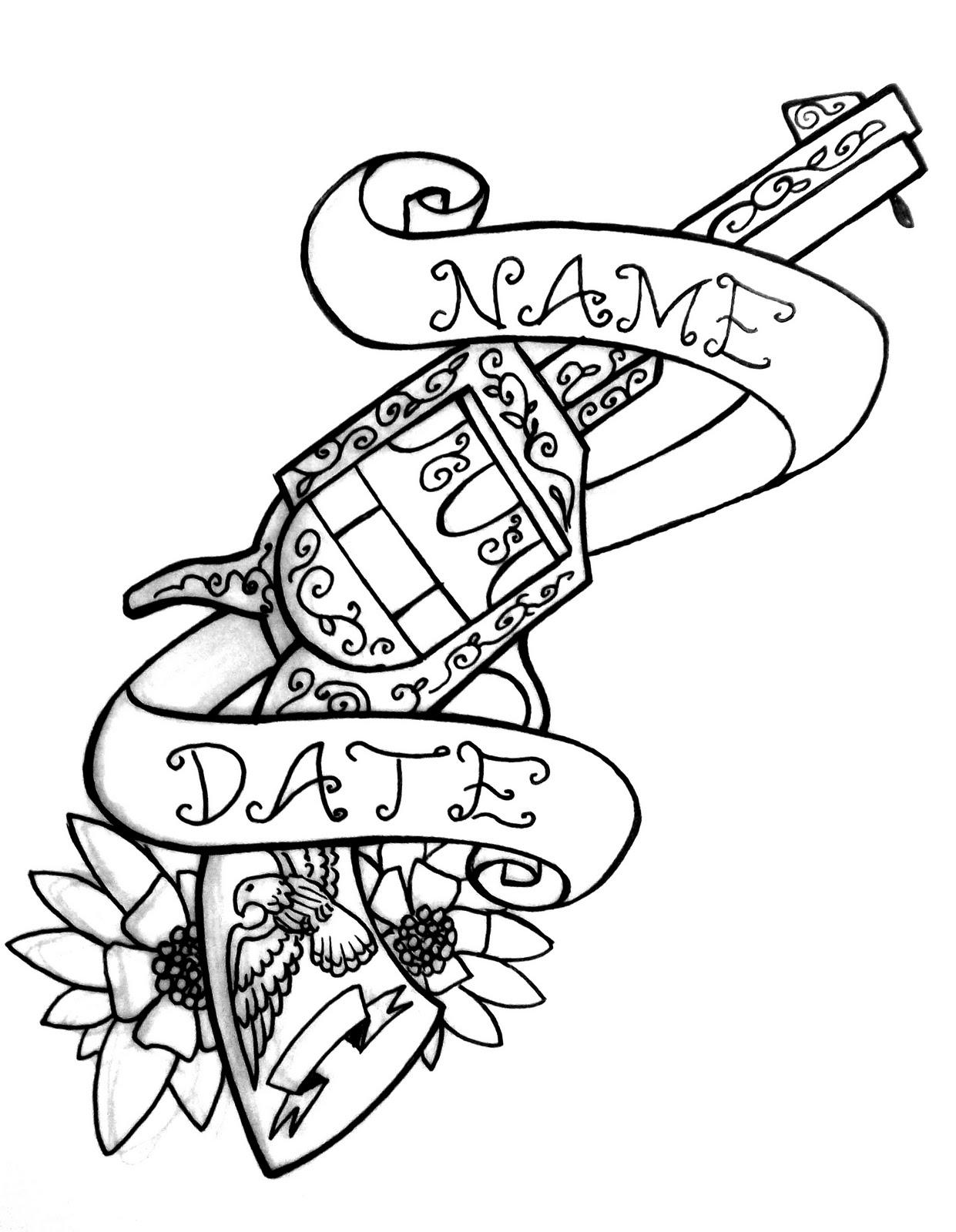 1241x1600 30 Random Tattoo Designs In 30 Days 09 10 2010