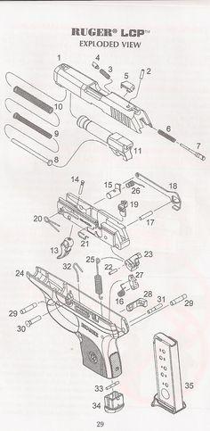 236x483 Colt Handguns Exploded Gun Drawings Digital (Pdf) Download Guns