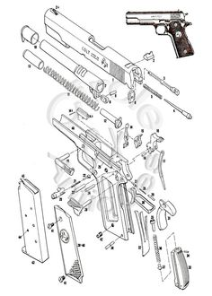 236x330 Colt Pistol Drawings Speed Up And Simplify The Pistol Loading