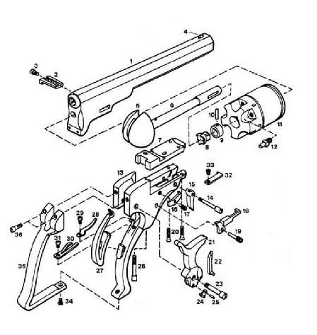 449x474 Invention The Colt Revolver