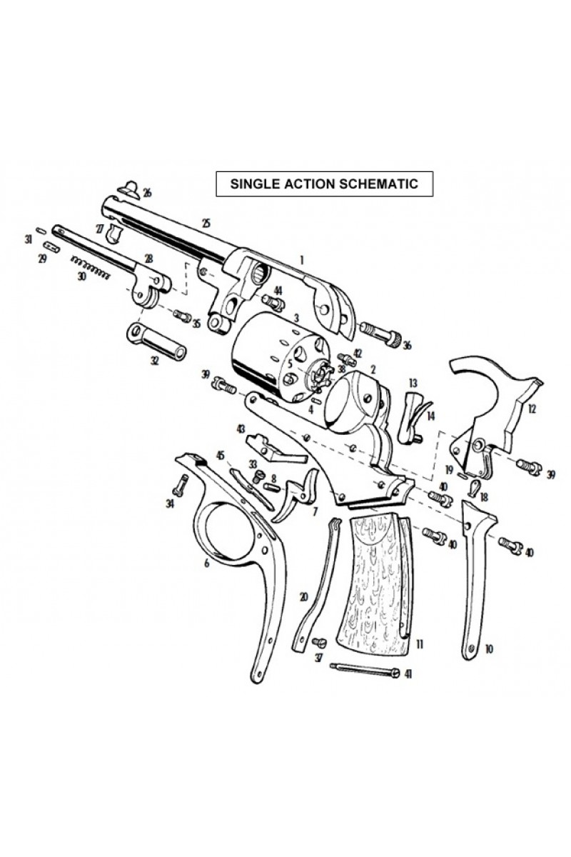 Colt 45 Revolver Drawing At Free For Personal Use Pistol Barrel Diagram Furthermore 1911 Parts 236x320 Pattern Good Things To Know 2 800x1200 Pietta