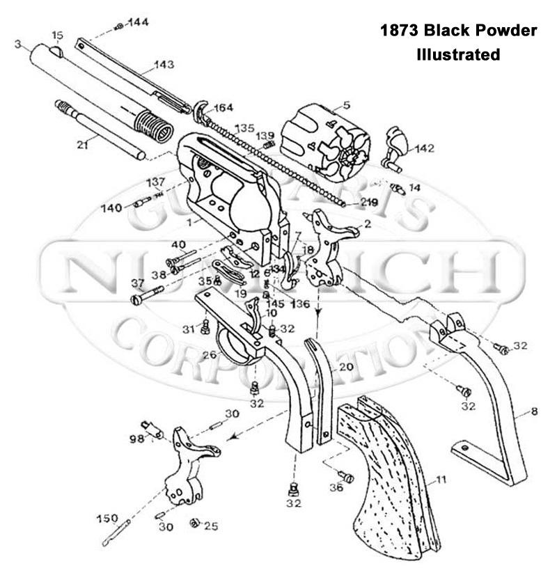 Colt 45 Revolver Drawing At Getdrawings Com