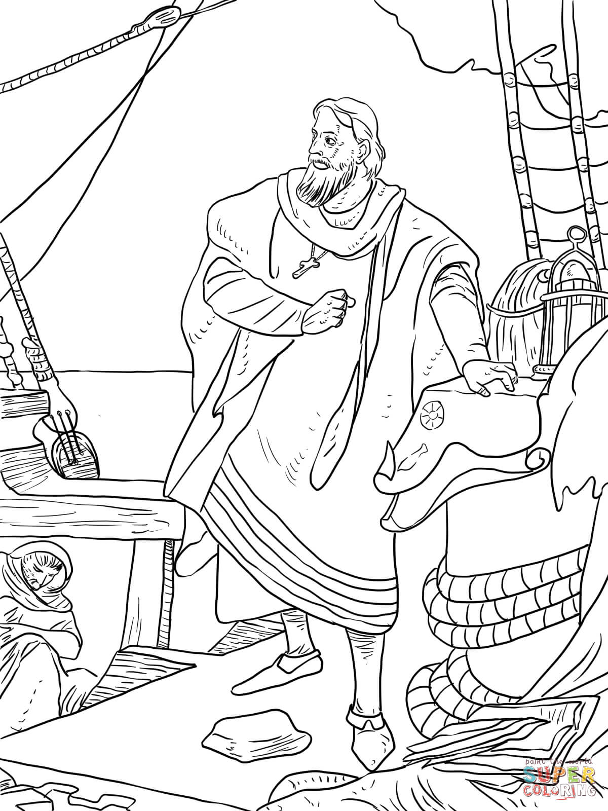 Worksheets Columbus Day Worksheets columbus day drawing at getdrawings com free for personal use 1200x1600 christopher on the santa maria coloring page free