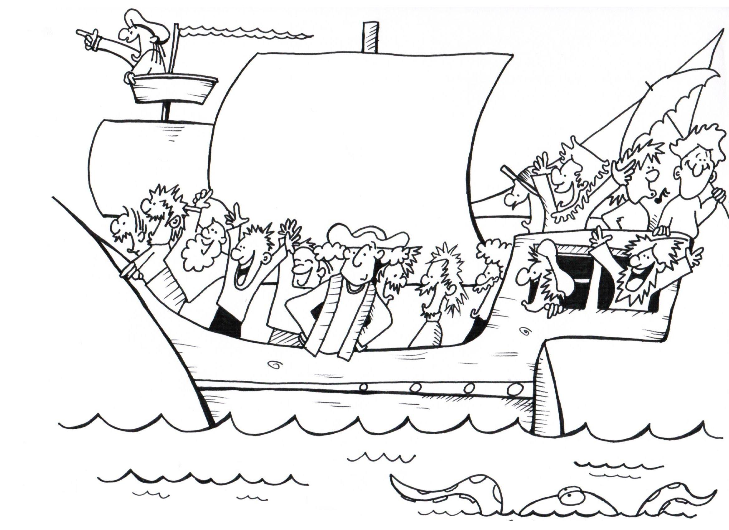2338x1700 Christopher Columbus! A History Cartoon For School