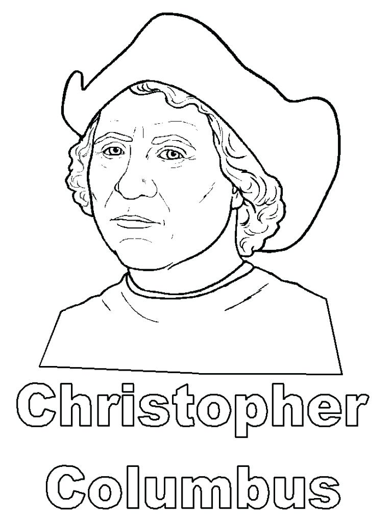 768x1024 Coloring Columbus Coloring Page Free Pages. Columbus Coloring Page