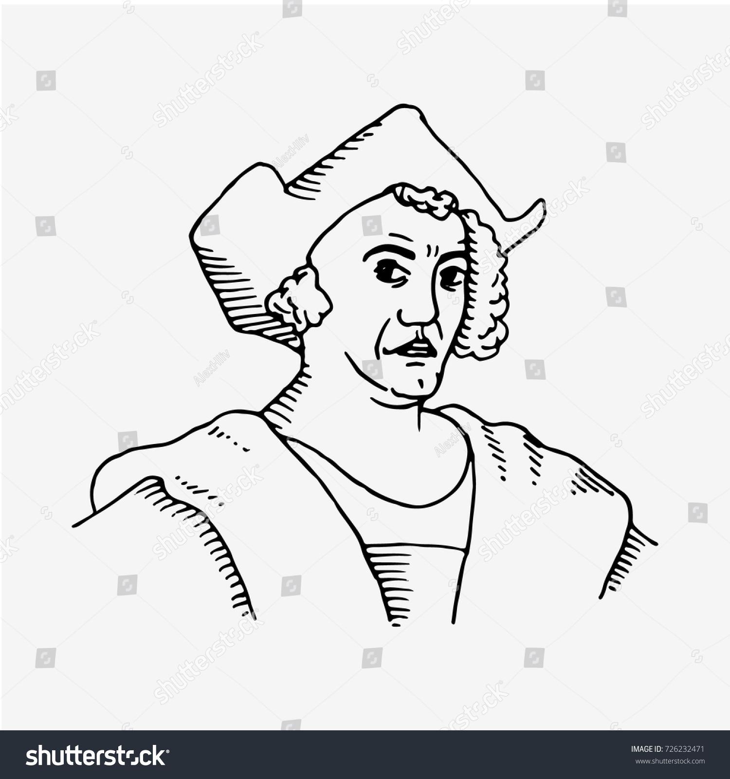 1500x1600 Christopher Columbus Drawing Cartoon Christopher Columbus Columbus