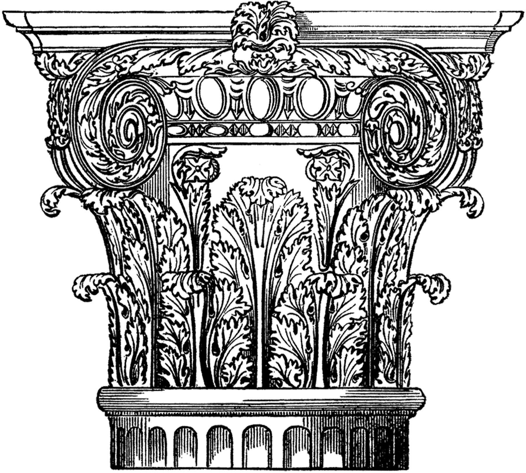 1800x1619 Architectural Column Image Architectural Columns, Columns