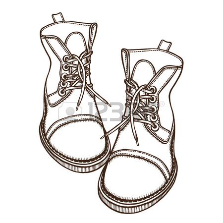 450x450 408 Combat Boots Cliparts, Stock Vector And Royalty Free Combat