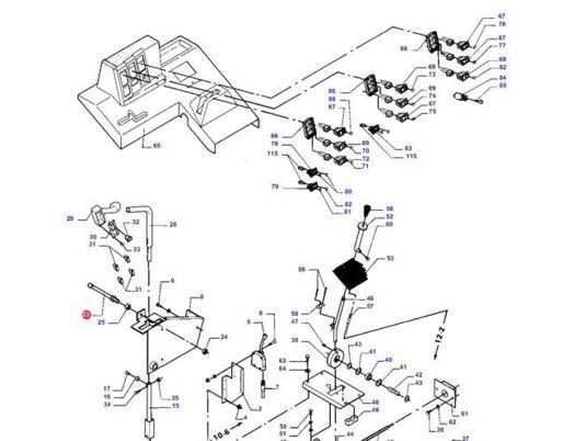 535x402 Massey Ferguson (D28780380) Sensors For Massey Ferguson Combine