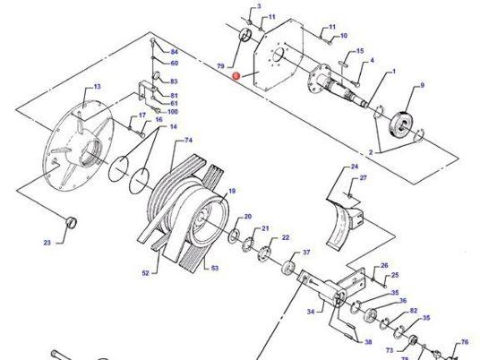 536x402 Plaque Sortie Moteur (D28788539) Other Engine Parts For Massey
