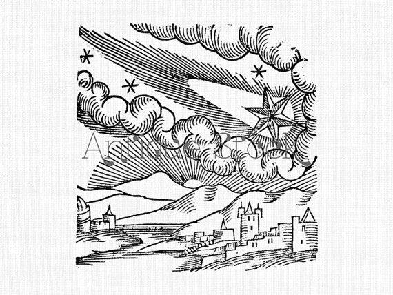 Comet Drawing