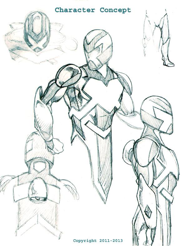 599x790 Dennis M. Sweatt Comic Book Creations And Design! Outcast Zero