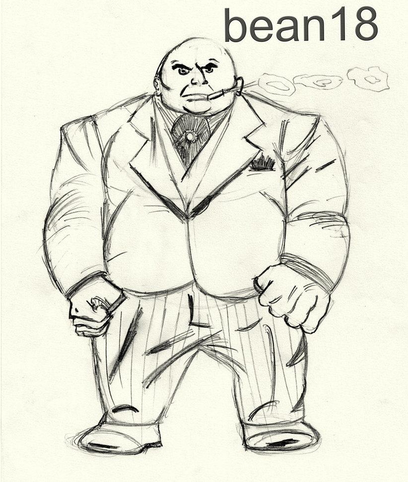 822x971 Kingpin Comic Book Character By Bean18
