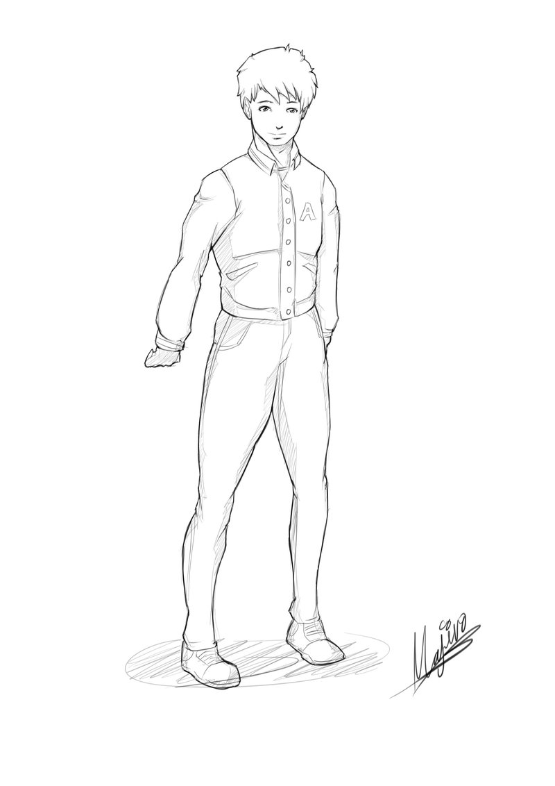 800x1132 Character Concept For A Comic Book Teen Boy (1) By Maherosan123