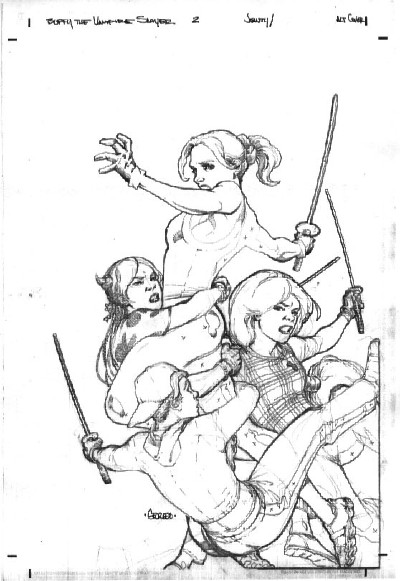 400x581 Buffy The Sketch Book Behind The Scenes Of Well Drawn Characters