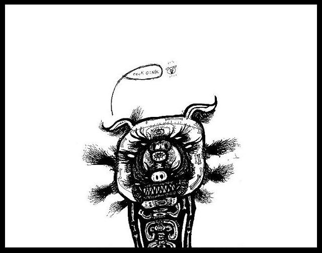 640x502 Dark Drawings Black And White Art