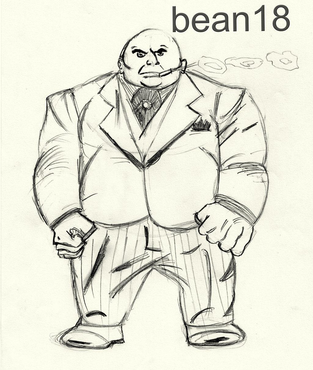 1024x1210 Kingpin Comic Book Character By Bean18