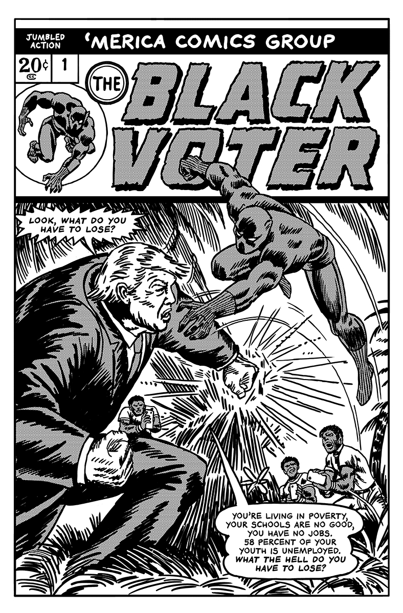 788x1200 Artist Turns Donald Trump Into Classic Comic Book Villains