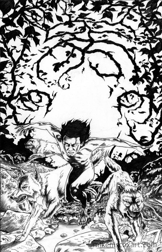 643x1000 The Jungle Comic Book Drawing By Maxahiss