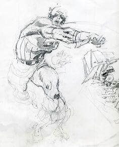 236x293 Cavalcade Of Comic Book Images A Arte De John Buscema