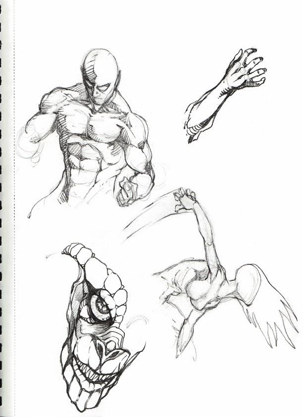 612x842 Dennis M. Sweatt Comic Book Creations And Design! Sketch Book