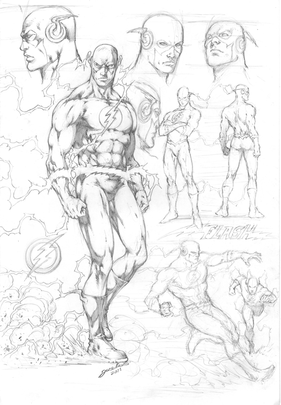 555x800 Flash Character Study By On @
