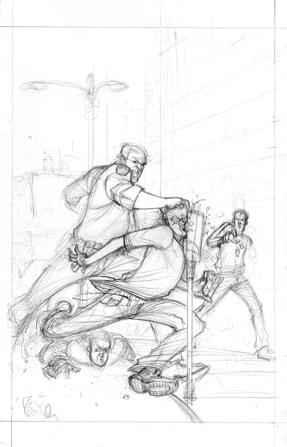 915x1424 Comic Book Production