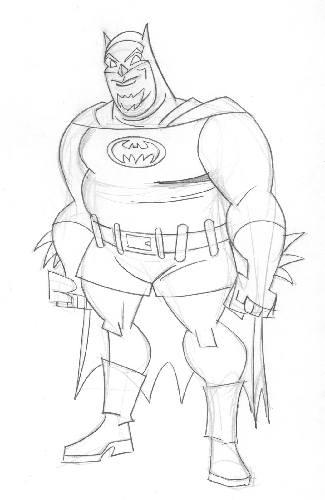 1041x1600 Draw! Batman Brave And The Bold Character Design
