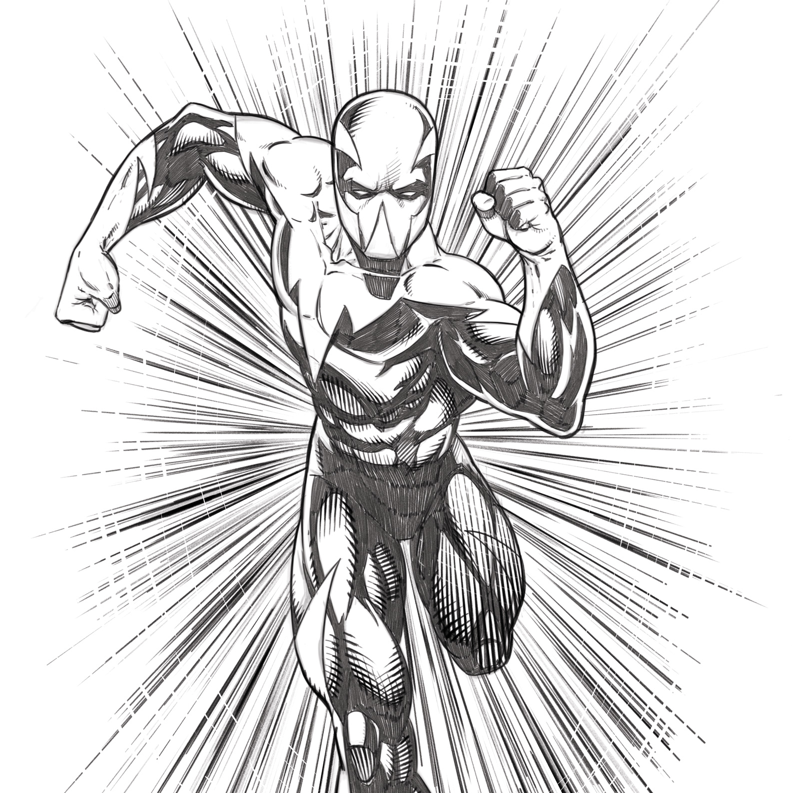 1587x1587 Drawing Comic Characters With Learn To Draw Action Heroes!