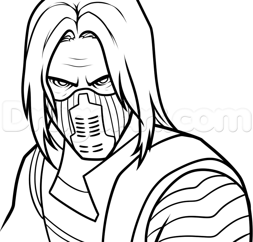 882x842 How To Draw Winter Soldier Stuff To Buy Winter